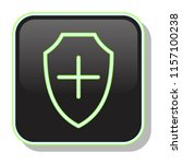 medical protection icon. shield ...