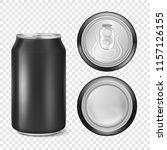 vector realistic 3d empty... | Shutterstock .eps vector #1157126155