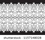 lace seamless pattern | Shutterstock .eps vector #1157148028