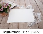 composition in vintage style.... | Shutterstock . vector #1157170372