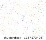 memphis style geometric... | Shutterstock .eps vector #1157173405