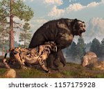 A Saber Toothed Cat Tries To...