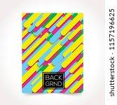 abstract design template... | Shutterstock .eps vector #1157196625