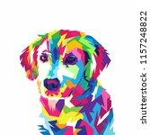 Colorful Dog Illustration