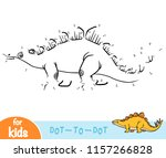 numbers game  education dot to... | Shutterstock .eps vector #1157266828