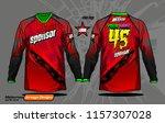 long sleeve motocross jerseys t ...   Shutterstock .eps vector #1157307028