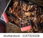 slow smoked pulled pork | Shutterstock . vector #1157323228
