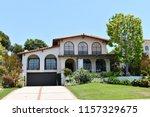modern beautiful villas and... | Shutterstock . vector #1157329675