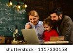 e learning online study...   Shutterstock . vector #1157330158