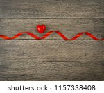 romantic valentines day red... | Shutterstock . vector #1157338408