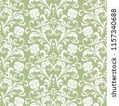 floral pattern. vintage... | Shutterstock .eps vector #1157340688
