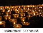 Church Votive Candles   A Grou...