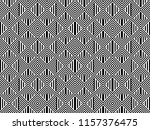 seamless pattern with striped... | Shutterstock .eps vector #1157376475