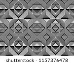 seamless pattern with striped... | Shutterstock .eps vector #1157376478