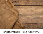 brown sack or the background of ... | Shutterstock . vector #1157384992