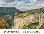 places of interest in provence  ... | Shutterstock . vector #1157389258