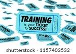training skills learning...   Shutterstock . vector #1157403532