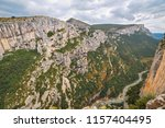 places of interest in provence  ... | Shutterstock . vector #1157404495
