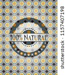100  natural arabic style... | Shutterstock .eps vector #1157407198