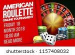 illustration online poker... | Shutterstock .eps vector #1157408032