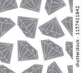vector seamless pattern from... | Shutterstock .eps vector #1157411842