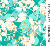 seamless vector pattern with... | Shutterstock .eps vector #1157421415