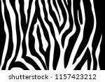 zebra stripes pattern. zebra... | Shutterstock .eps vector #1157423212