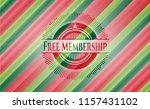 free membership christmas... | Shutterstock .eps vector #1157431102