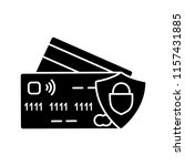nfc credit card glyph icon....   Shutterstock .eps vector #1157431885