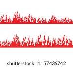 fire flame vector illustration... | Shutterstock .eps vector #1157436742