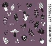 autumn vector collection design | Shutterstock .eps vector #1157453092