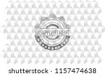 disappointment retro style grey ...   Shutterstock .eps vector #1157474638