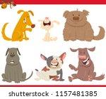 cartoon illustration of happy... | Shutterstock .eps vector #1157481385