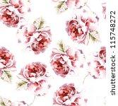 seamless watercolor paintings.... | Shutterstock . vector #115748272