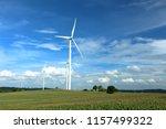 wind farm in thailand | Shutterstock . vector #1157499322