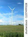 wind farm in thailand | Shutterstock . vector #1157499328
