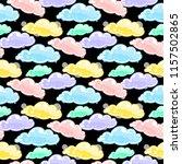 abstract vector seamless... | Shutterstock .eps vector #1157502865
