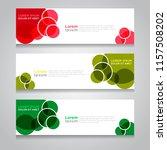 vector abstract design banner... | Shutterstock .eps vector #1157508202