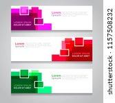 vector abstract design banner... | Shutterstock .eps vector #1157508232