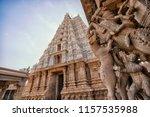the sri ranganathaswamy temple  ... | Shutterstock . vector #1157535988