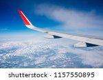 high altitude overlooking... | Shutterstock . vector #1157550895