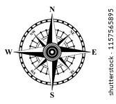 compass rose vector | Shutterstock .eps vector #1157565895