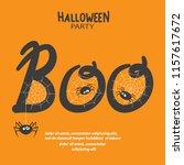halloween vector illustration...   Shutterstock .eps vector #1157617672