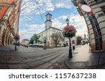 lviv  ukraine   july 21  2018 ... | Shutterstock . vector #1157637238