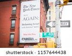 new york may 28 2018  camera... | Shutterstock . vector #1157644438