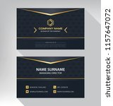 business model name card luxury ... | Shutterstock .eps vector #1157647072