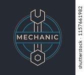 auto mechanic service. mechanic ... | Shutterstock .eps vector #1157661982