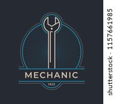 auto mechanic service. mechanic ... | Shutterstock .eps vector #1157661985