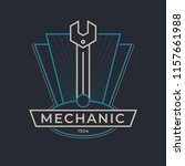 auto mechanic service. mechanic ... | Shutterstock .eps vector #1157661988