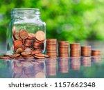saving money concept | Shutterstock . vector #1157662348